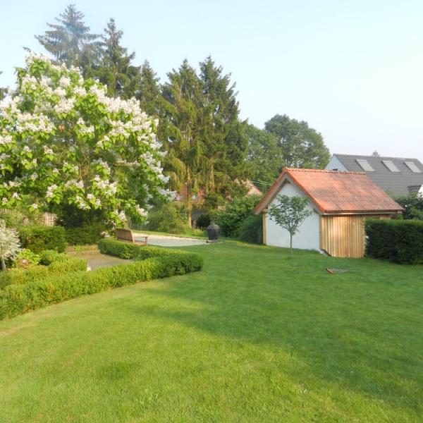 Abris de jardin charpente construction bois - Abri de jardin belgique ...