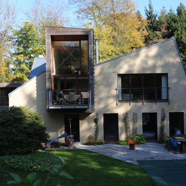 chantier maison passive ccbois basse energie en belgique