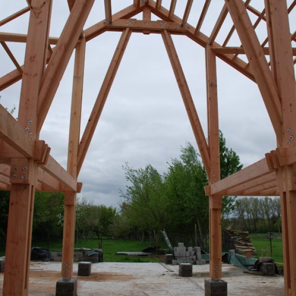 Construction et charpente en bois CC-BOIS EN BELGIQUE