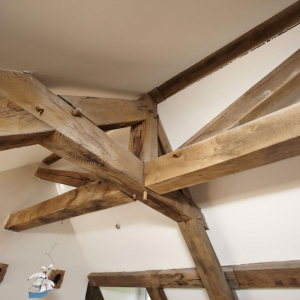 construction charpente en bois bruxelles