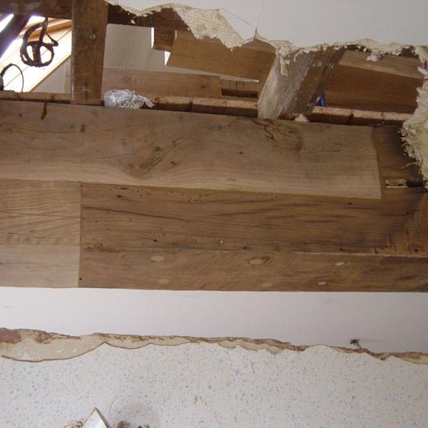 respect du patrimoine charpente en bois restauration monument et batiment