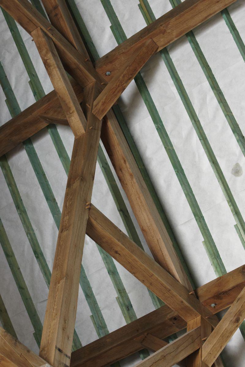 spécialiste charpente en bois brabant wallon