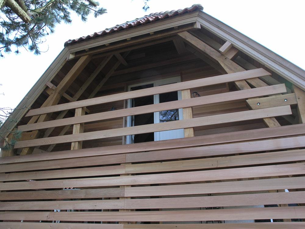 charpente en bois pour abris de jardin en wallonie par ccbois