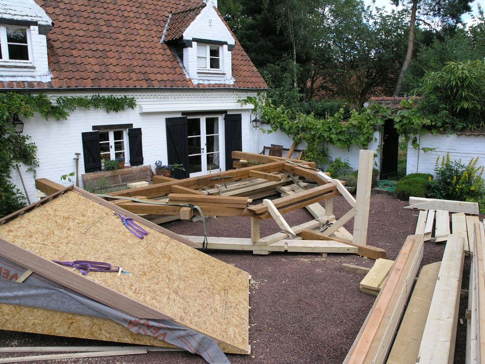 création d'abris de jardin en bois de haute qualité en belgique