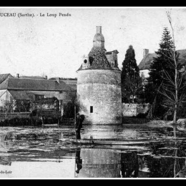 restauration travaux charpente Chantier du pigeonnier Le Loup Pendu par ccbois