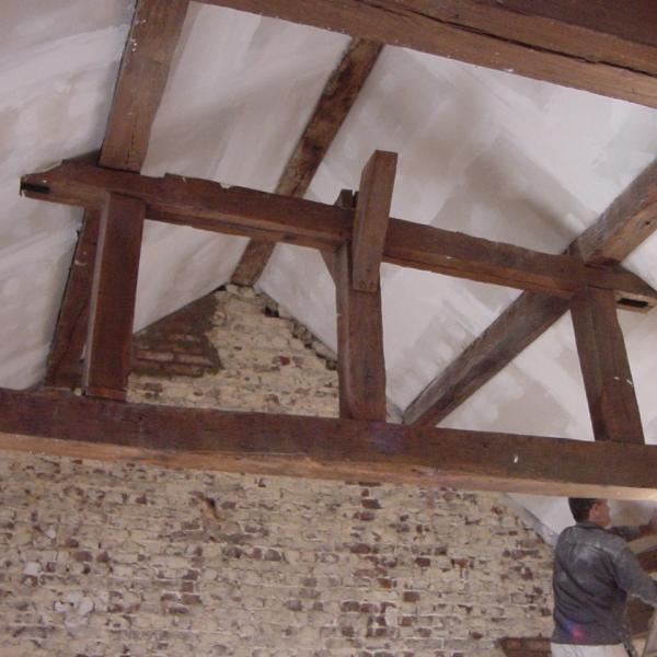 chantier restauration du patrimoine citadelle de namur par ccbois